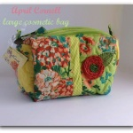 April Cornell Large Cosmetic Bag