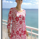 CORAL LEIS TUNIC by Pleats